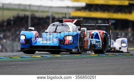 Le Mans / France - June 15-16 2019: 24 Hours Of Le Mans, Lsmp Racing   Team, Br Engineering Br17 Lmp