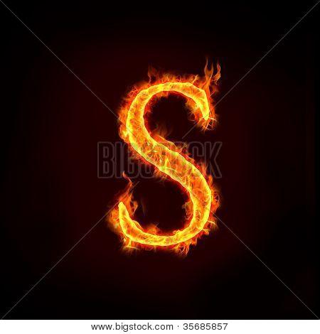 Fire Alphabets, S