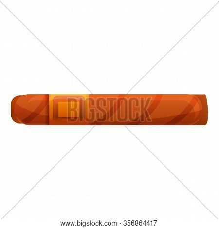 Mexican Cigar Icon. Cartoon Of Mexican Cigar Vector Icon For Web Design Isolated On White Background