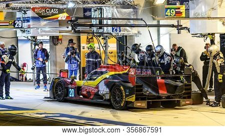 Le Mans / France - June 15-16 2019: 24 Hours Of Le Mans, High Class Racing Team , Oreca07 Lmp2 In Th