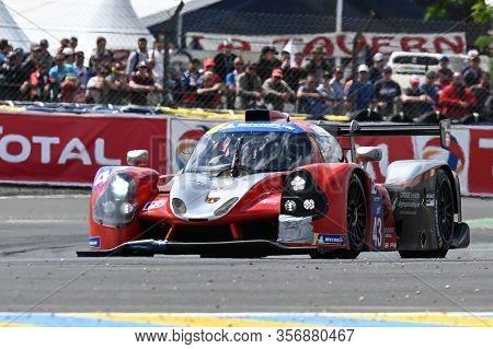 Le Mans / France - June 15-16 2019: 24 Hours Of Le Mans, Inter Europole Kei Racing Team, Ligier Jsp3