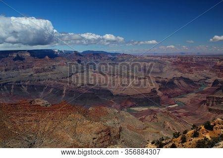 Great View: Grand Canyon Nationalpark / Rim Trail / South Rim