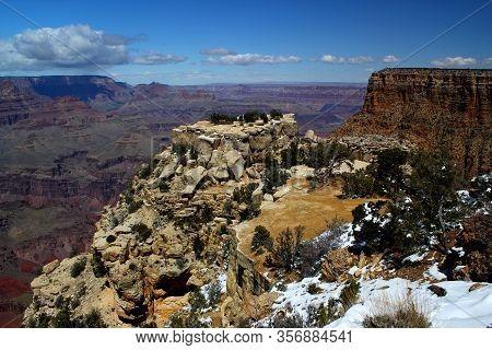 Beautiful View: Grand Canyon Nationalpark / Rim Trail / South Rim