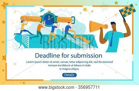 Informational Poster Deadline For Submission. Assessment Situation, All Requirements And Full Respon