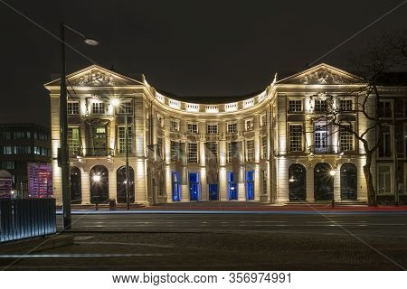 The Hague, The Netherlands - 18 February 2019: The Hague, The Netherlands. Royal Theater In The Hagu