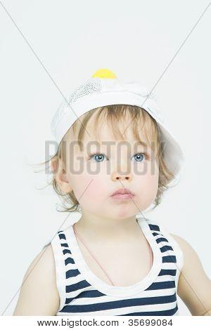 Portrit Of Little Girl