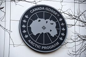 March 7, 2020, Chicago, Il Canada Goose Arctic Program Store Sign Just Above Store Front Entrance