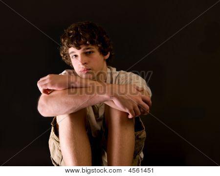 Portrait Of Adolescent Boy