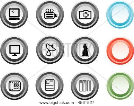 Media And Publishing Icons