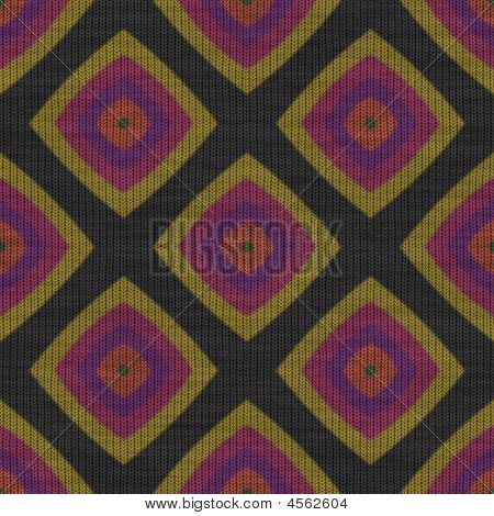 Retro Knit Fabric Seamless