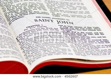 Bible Page - Saint John