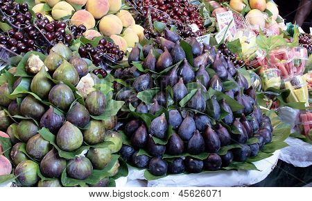 Fig Fruits At The Market