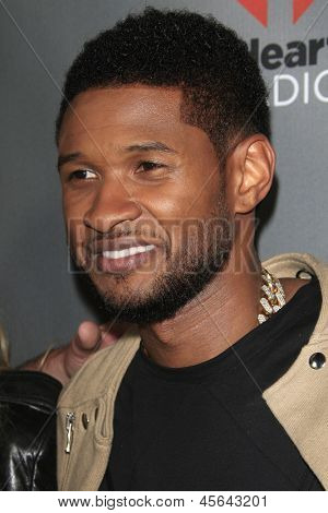 WEST HOLLYWOOD, CA - MAY 8:  Usher at the NBC's 'The Voice' Season 4 Red Carpet Event at the House of Blues on May 8, 2013 in West Hollywood, California