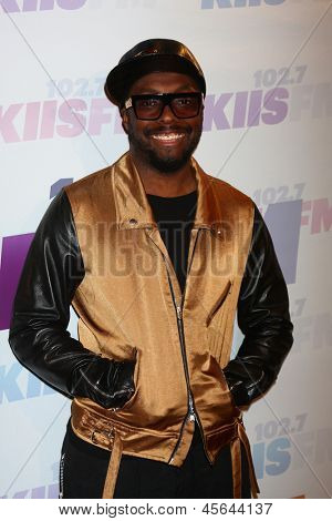 LOS ANGELES - MAY 11:  will.i.am attend the 2013 Wango Tango concert produced by KIIS-FM at the Home Depot Center on May 11, 2013 in Carson, CA