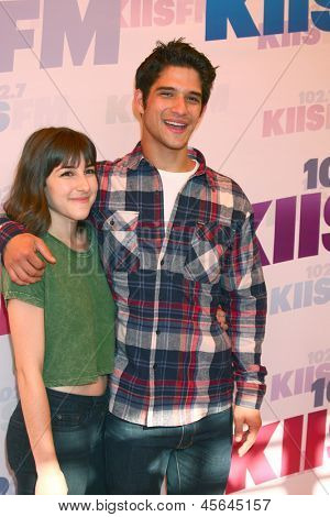 LOS ANGELES - MAY 11:  Tyler Posey attend the 2013 Wango Tango concert produced by KIIS-FM at the Home Depot Center on May 11, 2013 in Carson, CA