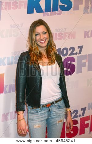 LOS ANGELES - MAY 11:  Katie Cassidy attend the 2013 Wango Tango concert produced by KIIS-FM at the Home Depot Center on May 11, 2013 in Carson, CA