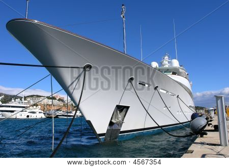 Luxury Yacht Or Boat