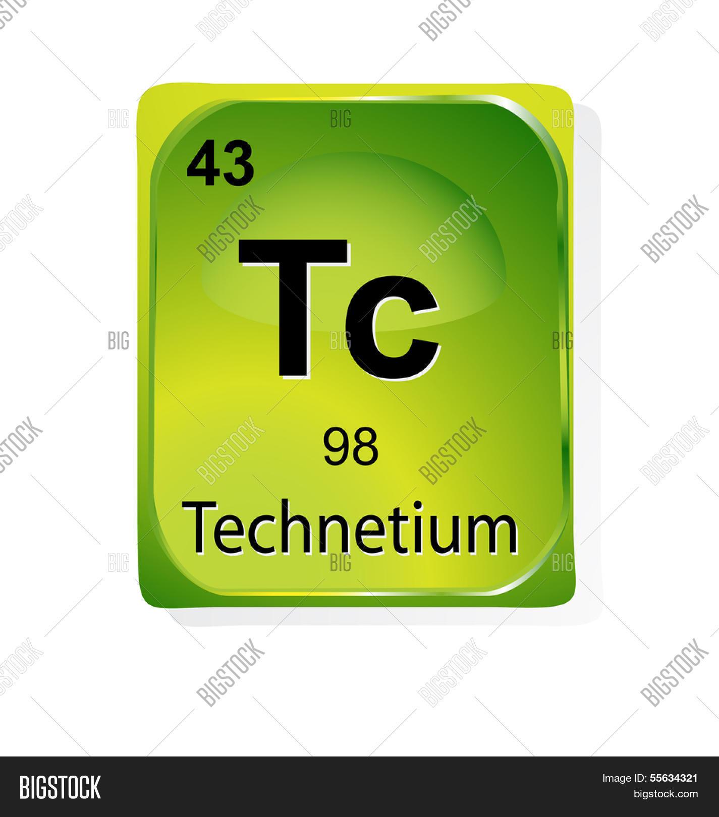 Technetium Chemical Vector Photo Free Trial Bigstock