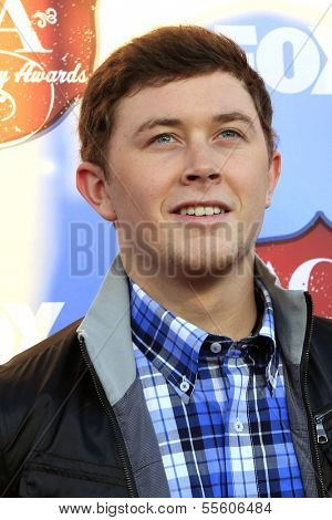 LAS VEGAS - DEC 10:  Scotty McCreery at the 2013 American Country Awards at Mandalay Bay Events Center on December 10, 2013 in Las Vegas, NV