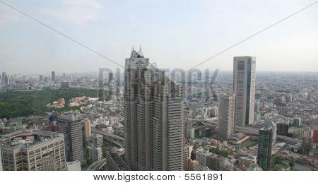 Panarama Of Tokyo