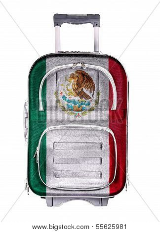 The concept of emigration immigration relocation travel. Mexico. poster
