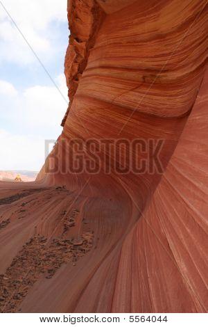 Rock Texture In Utah