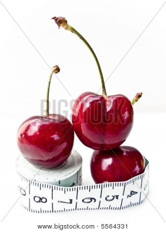 Cherries On Tape Measure