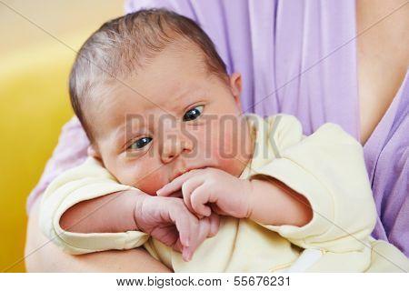 inborn squint phenomenon of newborn baby