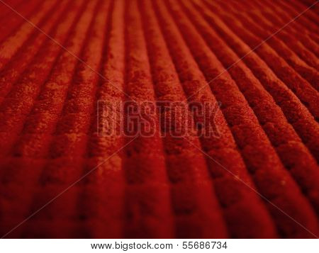 Red Textured Fabric