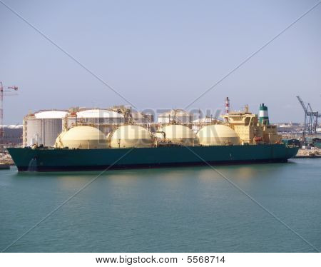 Natural Gas Tanker.