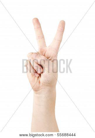 V sign