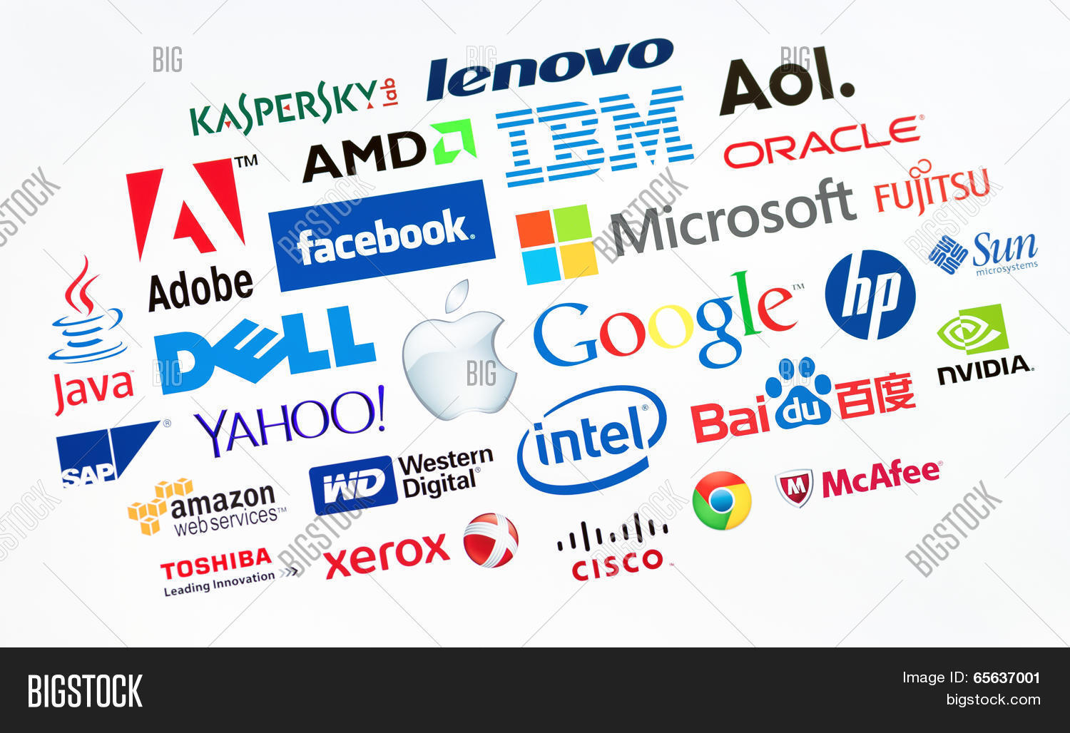 Top Computer Companies Image & Photo (Free Trial) | Bigstock