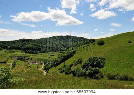 German landscape Kaiserstuhl