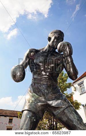Boxer Statue, Warwick.