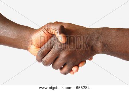 Black Handshake 1