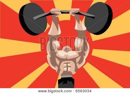 Weightlifting Is A Herculean Task