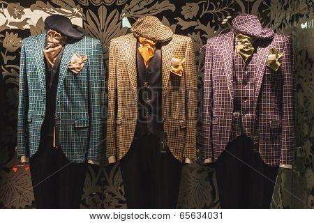 Elegant Menswear On Display At Si' Sposaitalia In Milan, Italy