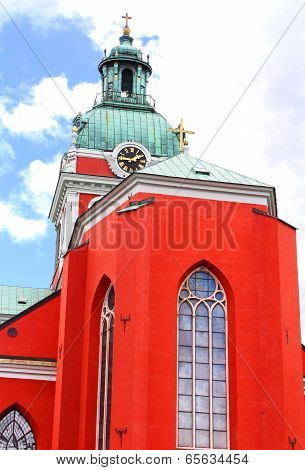 Saint James's Church Is A Church In Central Stockholm, Sweden, Dedicated To Apostle Saint James The