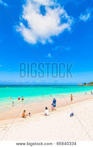 tropical paradise Kailua Beach in Oahu, Hawaii