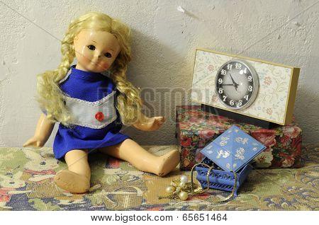 Damaged Vintage Doll