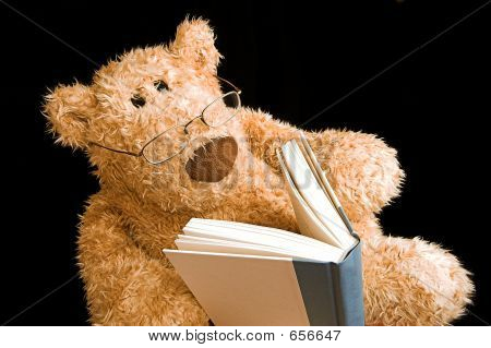Lectura de oso de peluche