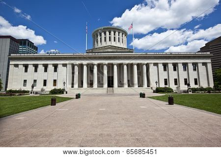 The Ohio Statehouse is located in the capital of Columbus.
