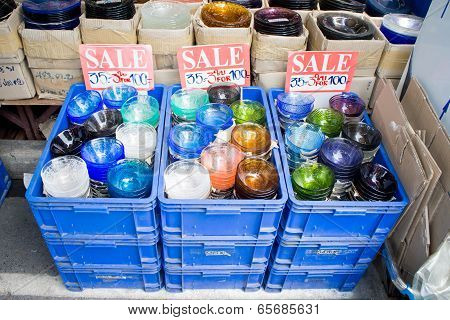Ceramic shop at Chatuchak Weekend Market