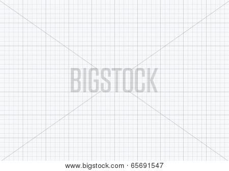 Millimeter school paper pattern texture background vector