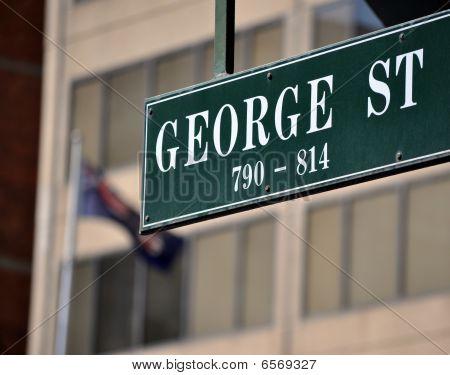 George street sign