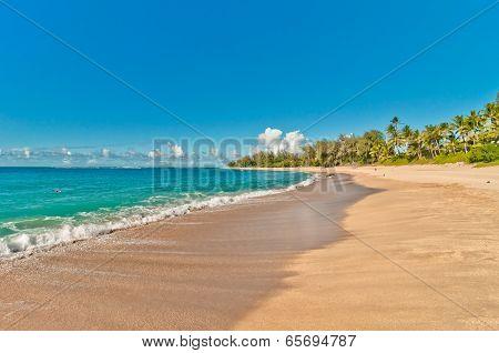 Haena beach in Kauai island, Hawaii