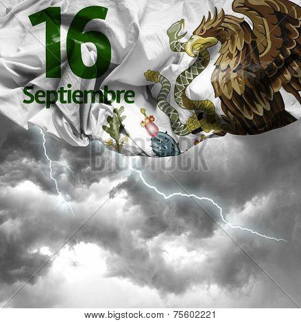 September, 16 Independence of Mexico - 16 de Septiembre, Independencia de Mexico