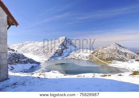 Enol Lake.