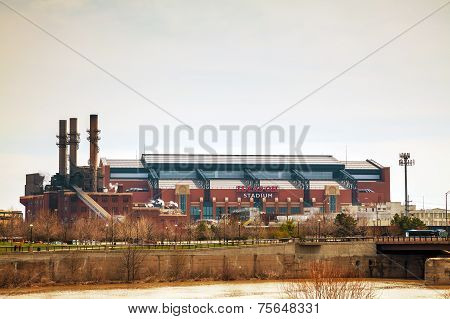 Lucas Oil Stadium In Indianapolis