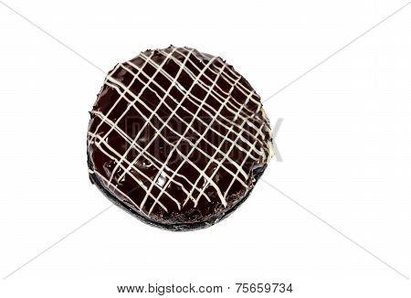 donut isolated on the white background. bakery,